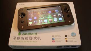 JXD s7100 Android Gaming Tablet PC - Review Test Deutsch / German
