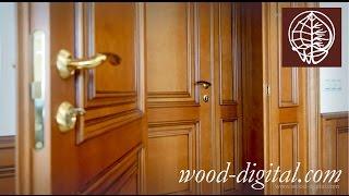Деревянные двери и панели на заказ в Москве(Столярная мастерская http://www.wood-digital.com/ Столярная мастерская