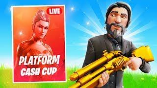 SOLO PLATFORM CASH CUP ON FORTNITE MOBILE! (Winning $ on Mobile)