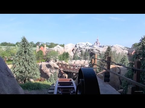 NEW Seven Dwarfs Mine Train Front Row POV Magic Kingdom - New Fantasyland Walt Disney World