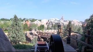 NEW Seven Dwarfs Mine Train Front Row POV Magic Kingdom - New Fantasyland Walt Disney World