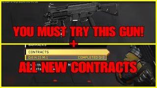 THE GOD GUN? (MACTAV-45) x CONTRACTS?  (INFINITE WARFARE GAMEPLAY)