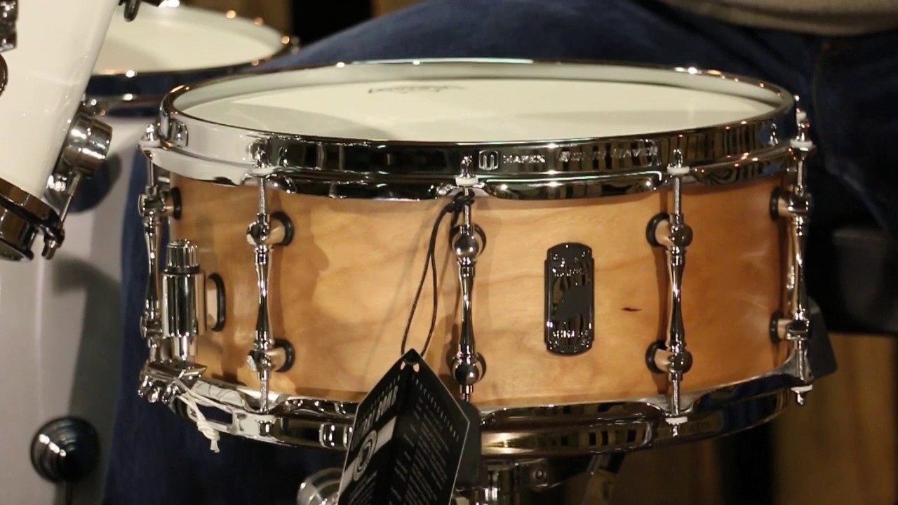 Mapex Black Panther Design Lab Series Cherry Bomb Snare Drum Youtube