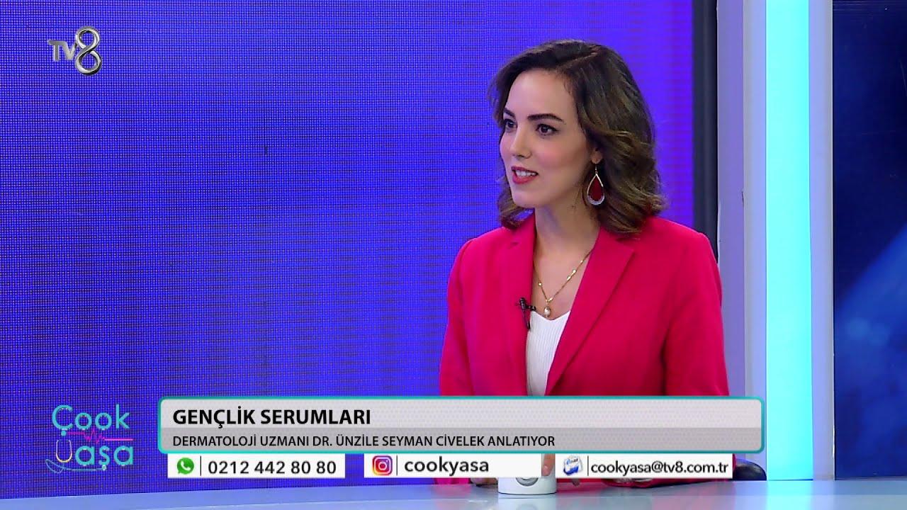 CİLT GENÇLEŞTİRME UYGULAMALARI |TV8 ÇOOK YAŞA | DR. ÜNZİLE SEYMAN CİVELEK -  YouTube
