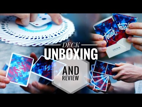 CARDISTRY TOUCH DECK REVIEW + UNBOXING // RISE MAGIC