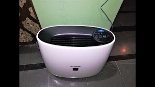 Sharp Vestige Air Purifier FP-J30M-B Hands On & Review