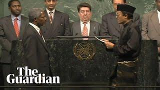 Video Moment Kofi Annan was sworn in as UN secretary general in 1996 download MP3, 3GP, MP4, WEBM, AVI, FLV Agustus 2018