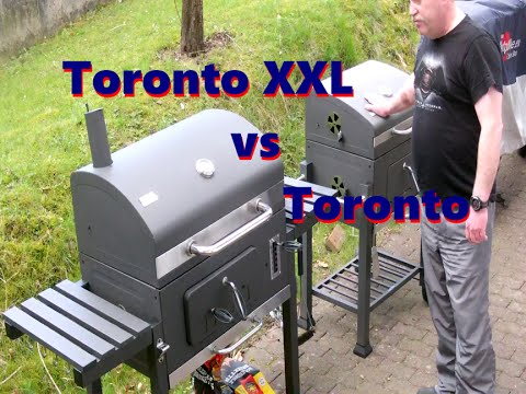 unboxing grill toronto xxl aufbau und vergleich vs. Black Bedroom Furniture Sets. Home Design Ideas