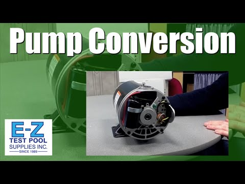 How to Convert an Inground Pool Pump Motor from 230v to 115v - YouTube