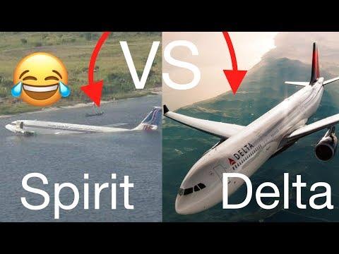 Spirit Airlines VS Delta Airlines