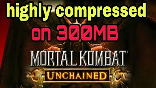 [300MB] Download Mortal Kombat Unchained game highly compressed for Android