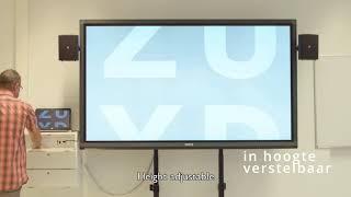 BenQ Business Display case study - Zuyd Hogeschool with BenQ projector, Education IFP