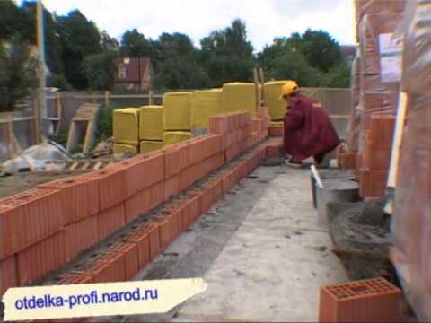 видео: Как пострить кирпичный дом