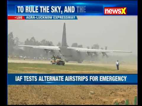 IAF's highway touchdown exercise culminates on Lucknow-Agra Expressway