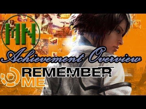 Remember Me: Achievement Overview |