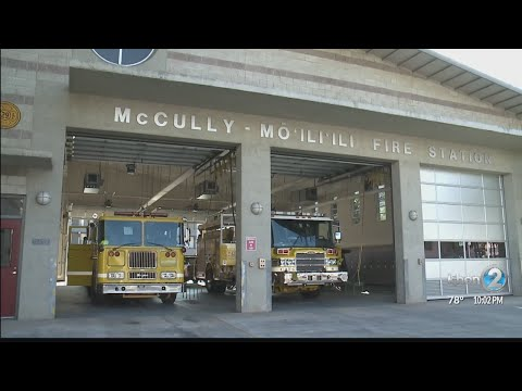 Honolulu Fire Department faces staffing shortage despite graduating recruits