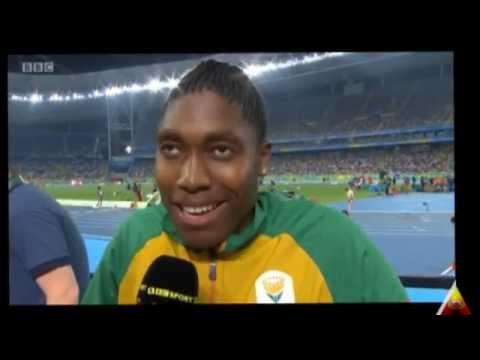 Caster Semenya = Black Man?