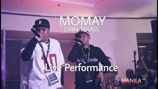 JUAN THUGS - MOMAY (Live Performance @Vintage in Philippines/ Binondo MNL)
