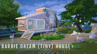 BARBIE DREAM (TINY) HOUSE | The Sims 4 Speed Build (No CC)