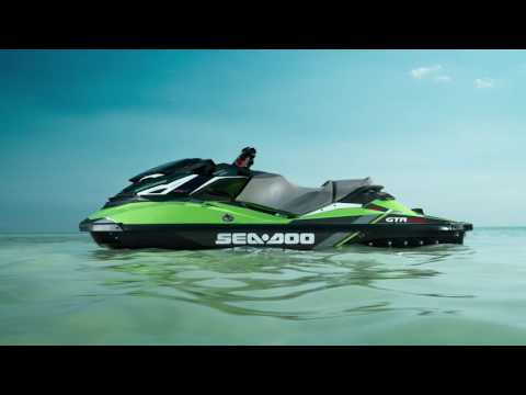 2017 Sea-Doo GTR-X - Interview w/ James Heintz Global Product Manager