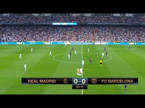 Regarder Real Madrid vs Barcelone streaming Liga en direct live 23122017