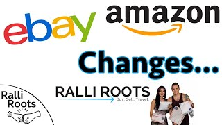 How to deal with BIG CHANGES on eBay & Amazon