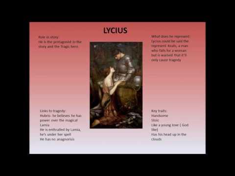 Revision Notes   John Keats   Lamia