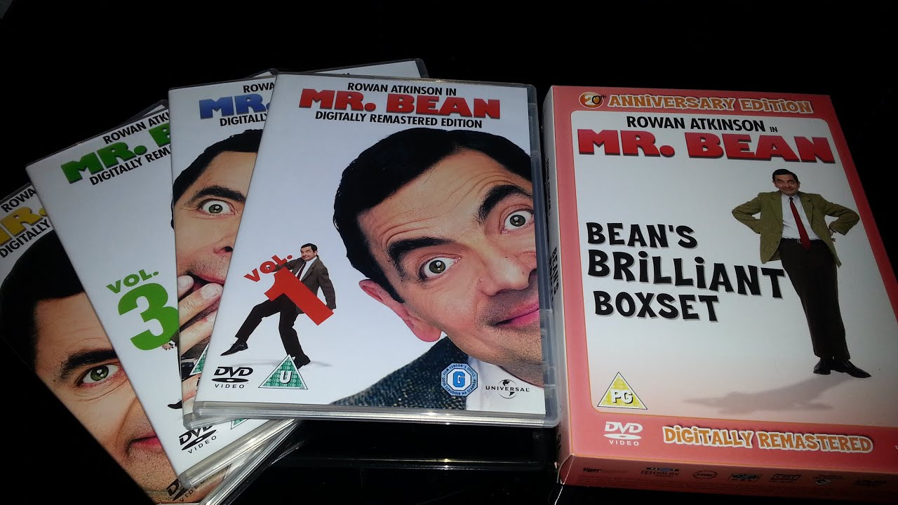 Mr Bean Dvd Box Set Product Review Youtube