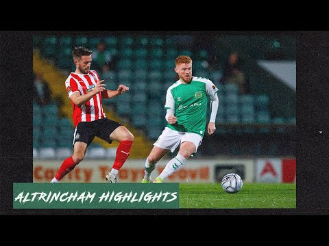 Yeovil Altrincham Goals And Highlights