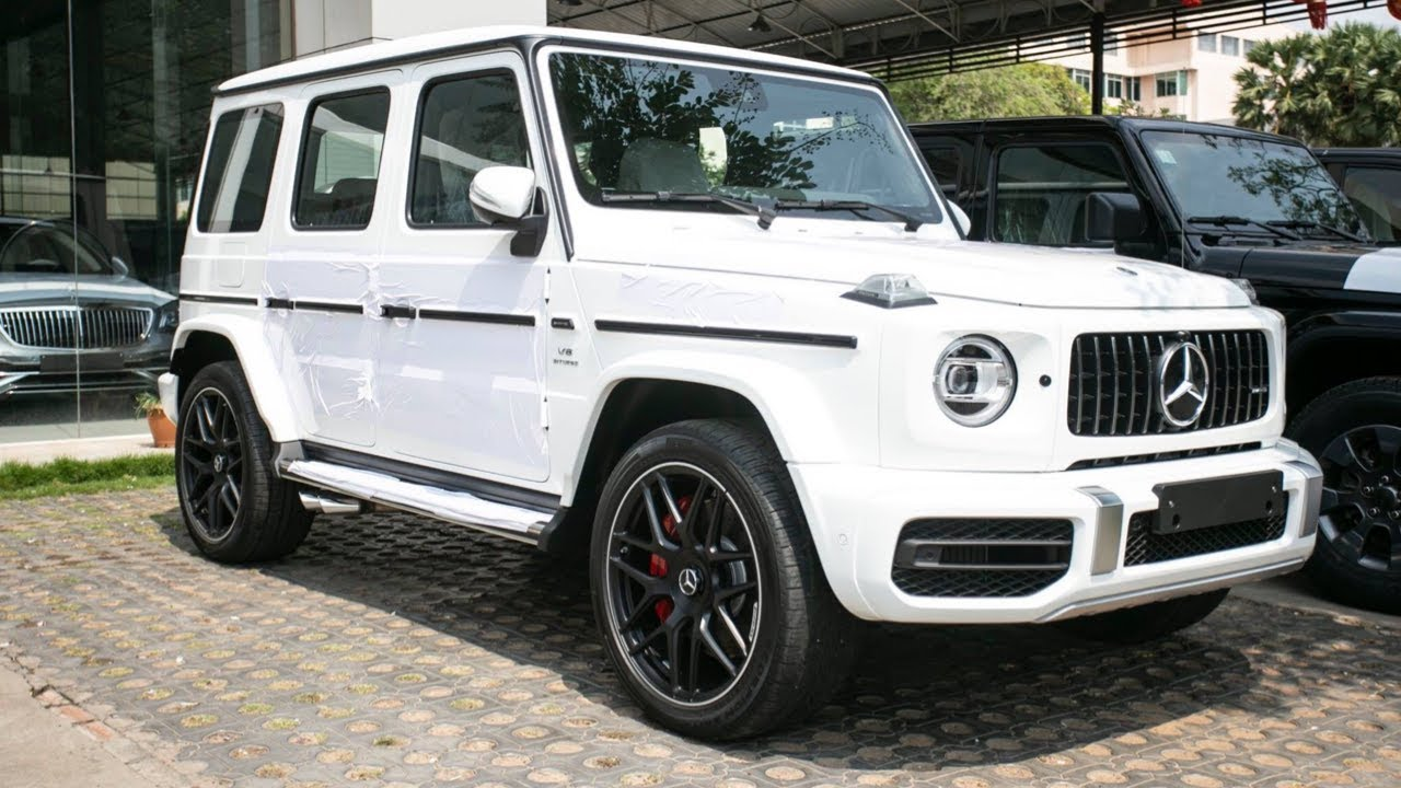 2019 mercedes g-wagon amg 63 white