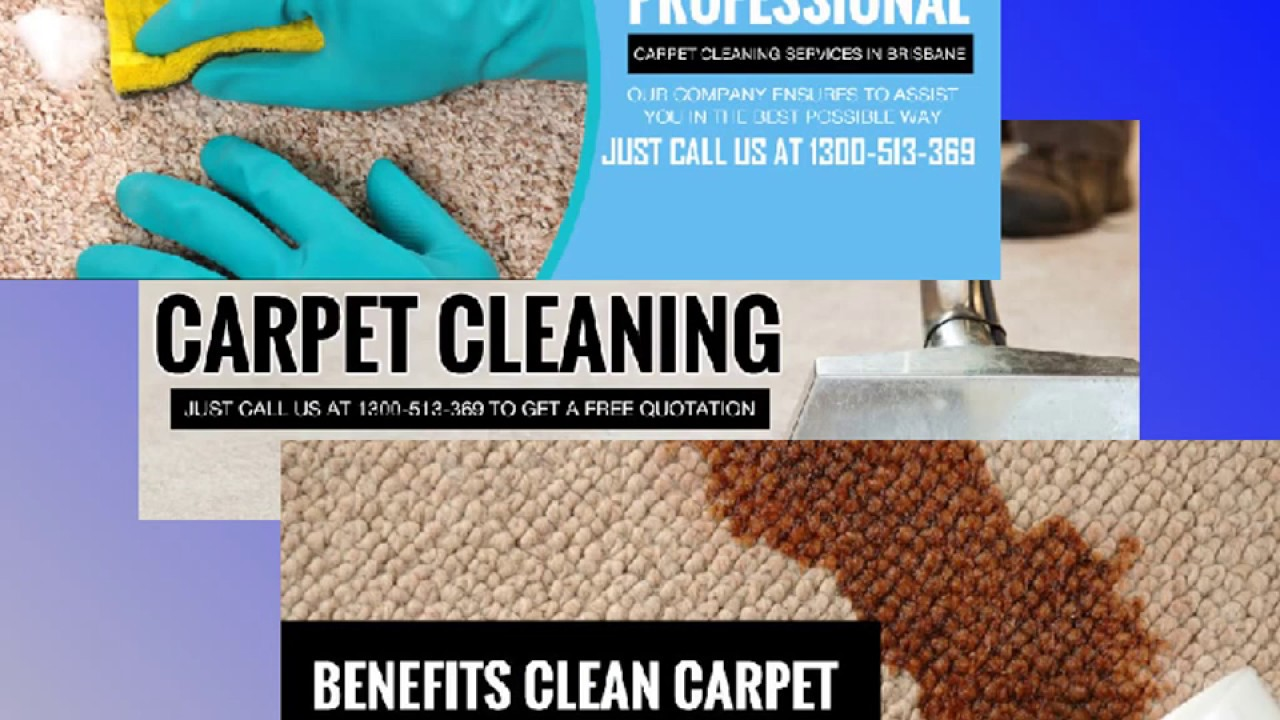 Carpet Cleaning Service Brisbane | 1300 513 369 - YouTube