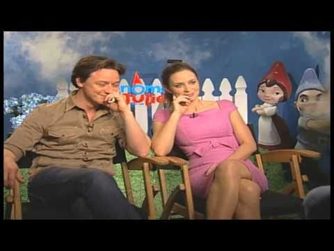 James Mcavoy Gnomeo And Juliet Emily Blunt and...