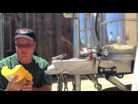 Airstream Coupler Lock