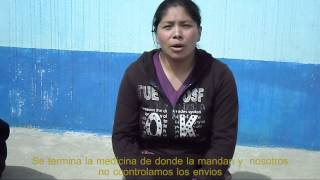 CCGS denuncia: falta de medicamentos en Santa Eulalia, Huehuetenango