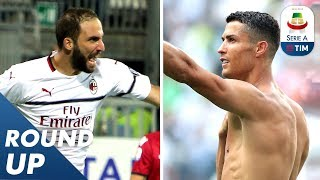 Ronaldo and Higuain Score their 1st Goals & Defrel's Brace! | Round-Up 4 | Serie A