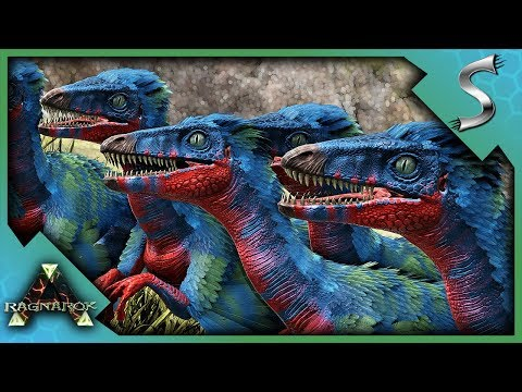 FEEDING BABY GIGAS TO TROODONS TO BREED A TROODON ARMY! - Ark: Survival Evolved [Cluster E94]