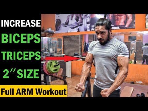 Get Big Biceps & Triceps  Increase Size 2