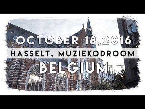 HASSELT Muziekodroom Belgium VBlog #5 EUROPEAN TOUR 2016