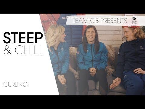 Winter Olympic Curling stars ft. Eve Muirhead & Jenny Jones | Steep & Chill Episode 4