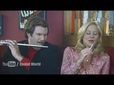 Amazing Jazz Flute by Will Ferrell | Funny Movie Scene | The Legend of Ron Burgundy