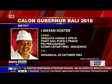 Profil 3 Cagub Bali 2018 yang Diusung PDIP