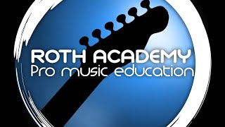 Week 4 Roth Academy Guitar Meister Series Pete Roth applied Theory