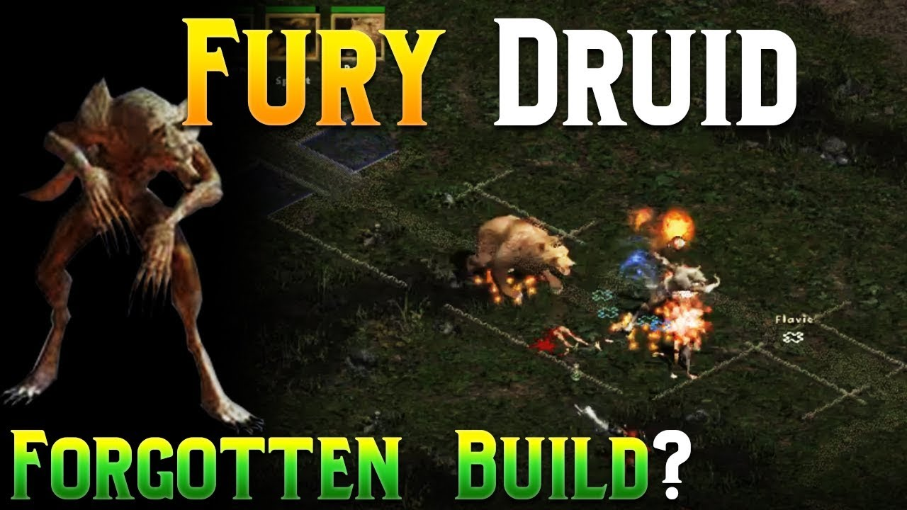 Diablo 2 - Budget Fury Druid Build - YouTube