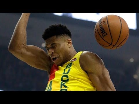 Mitchell 26 Points vs Giannis 30 Points! 2018-19 NBA Season