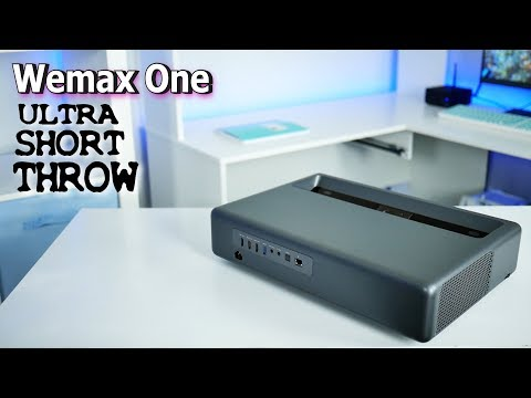 Best Ultra Short Throw Laser Projector 2018   Wemax One Home Theater Review