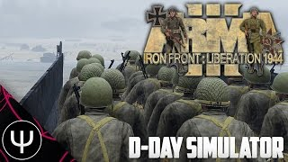 ARMA 3: Iron Front 1944 Mod — D-Day Simulator!
