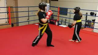 Grace and Lola @ Humber Martial Arts