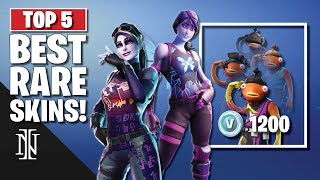 TOP 5 BEST RARE SKINS à Fortnite (fr) RArity BLUE