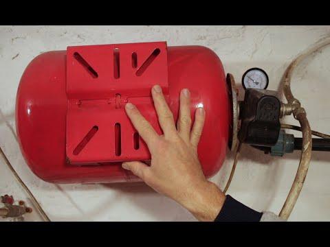 Гидроаккумулятор легко! Настройка реле, ремонт, замена груши, подкачка воздуха в расширительный бак