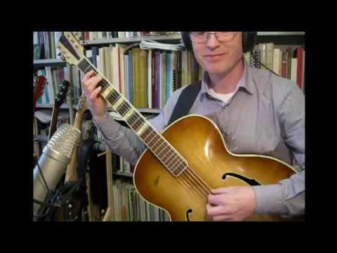 Bye Bye Blackbird Julie London Guitar Arrangement 1959 Hfner